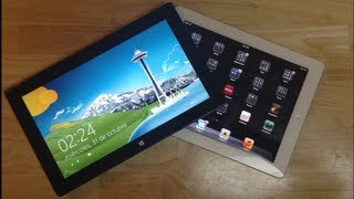 Microsoft Surface RT VS Apple iPad 3 -- Comparativas
