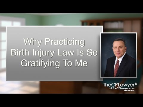 Why Practicing Birth Injury Law Is So Rewarding To Me