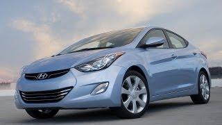Тест драйв Hyundai Elantra 2013 смотреть