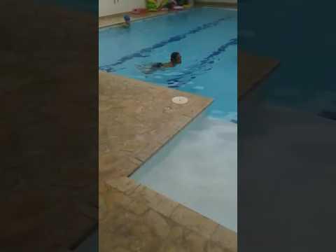 Stroke Patient Lee Mehl Chest Swimm