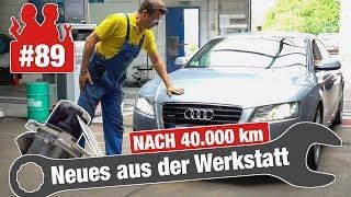 Gereinigtes Audi-AGR-Ventil nach 40.000 Kilometern! Wie sieht es aus? | Opel Astra mit Aussetzern