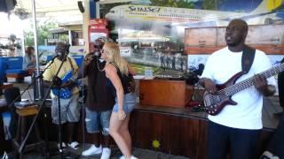 Christine Gordon/Percy Rankin at Sunset Beach Bar