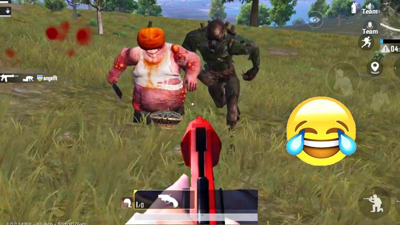 Trolling Of New Zombie Boss ?? | PUBG MOBILE FUNNY MOMENTS