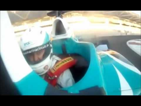 How G-Force act on non-professional F1 driver