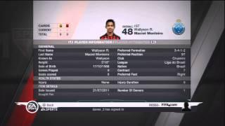 Fifa 11 Ultimate Team - InForm Wallyson 48 PS3