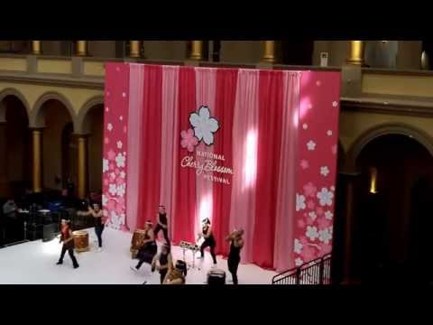 The Cherry Blossom Festival 2014 - At The National Building Museum - Washington DC - 3/22/2014.