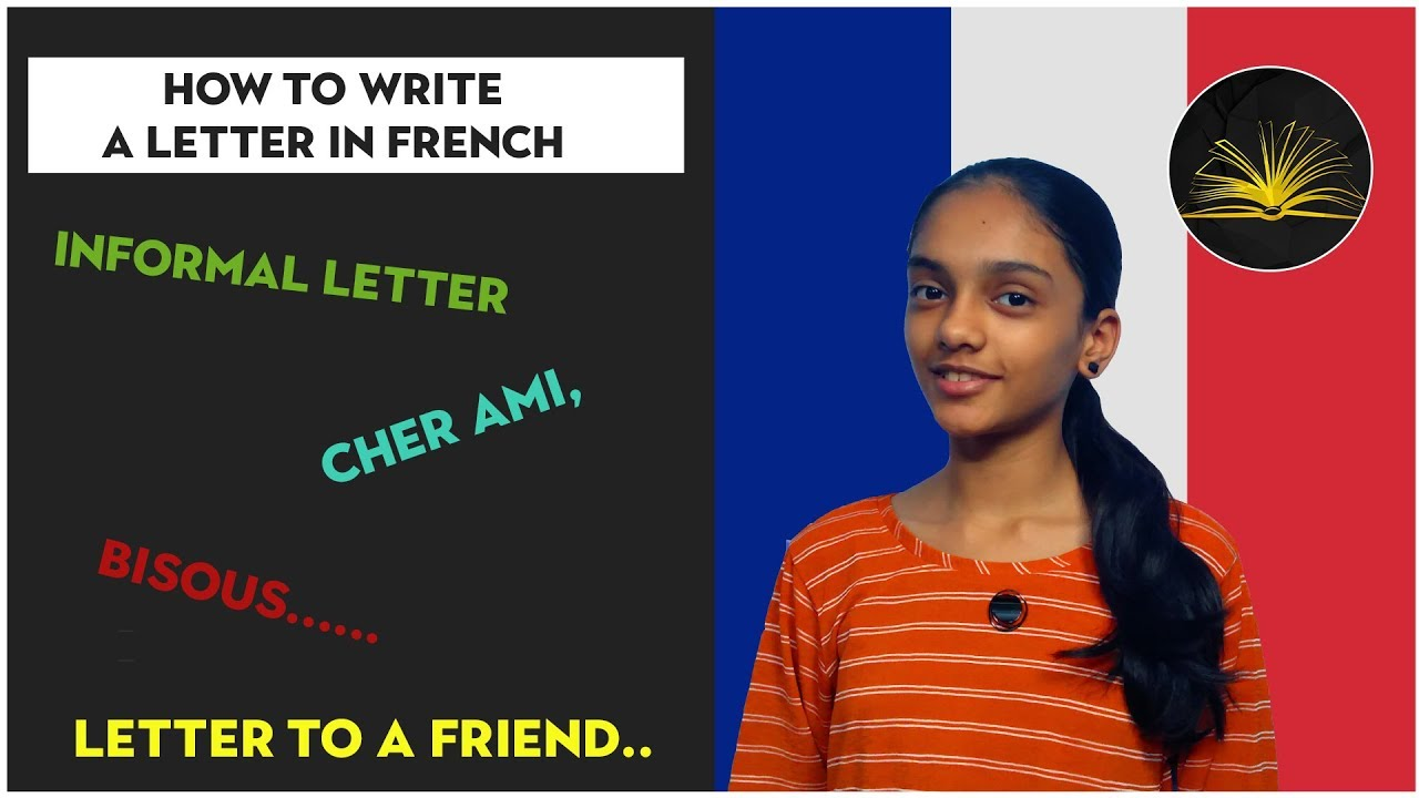 Write a friendly letter in french long quotes in an essay