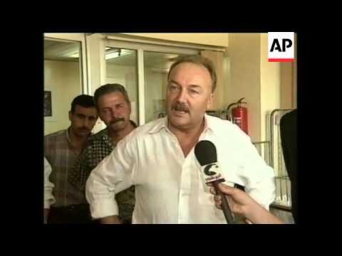 IRAQ: BRITISH MP GEORGE GALLOWAY PREPARES FOR MERCY MISSION