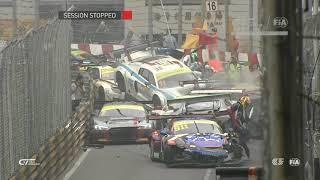 Macau FIA GT World Cup 2017 crash