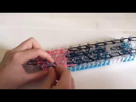 comment faire un panda en élastiques. - youtube