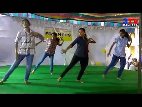 Super Dance at Kasturba Gandhi College Fresher's Day Celebration's | 3TV BANJARA