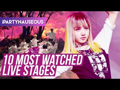 Top 10 Most Watched Music Show Live Stages!