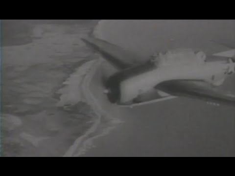 US Navy 3rd Fleet Aircraft Conduct a Sweep of South China Sea & Indochina 1945 Newsreel Footage