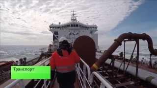 Об отгрузке нефти с платформы «Приразломное» в программе «Транспорт» на телеканале «России24».