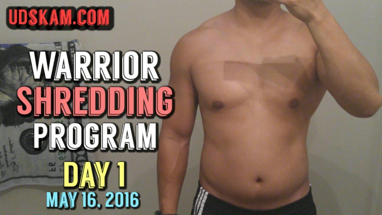 Warrior shredding workout routine eoua