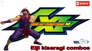 KOF XI Eiji kisaragi combos