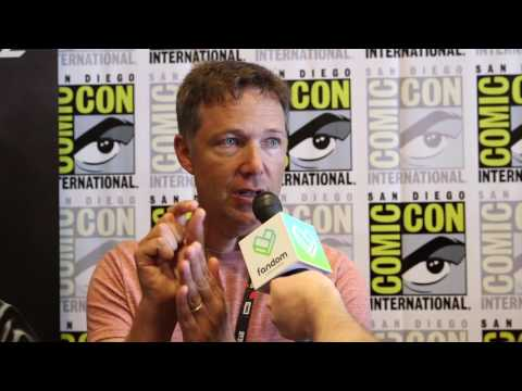 Injustice 2  George Newbern  at San Diego Comic Con