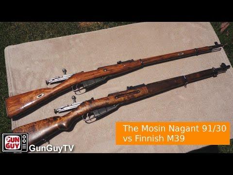 The Mosin Nagant 91/30 vs Finnish M39