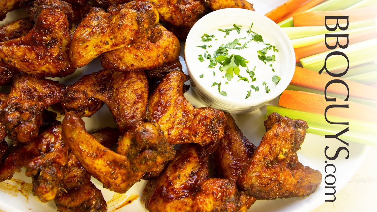 Smoked Fried Chicken Wings Recipe Jay Ducote S Barbeque Sauce