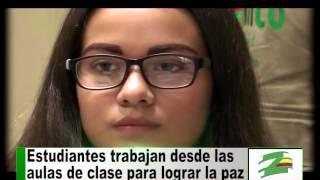 Estudiantes del colegio Santa Librada realizan programas para construir la paz