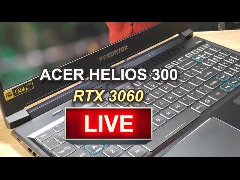 ACER PREDATOR HELIOS 300 - RTX 3060 - How Hot? How Fast?