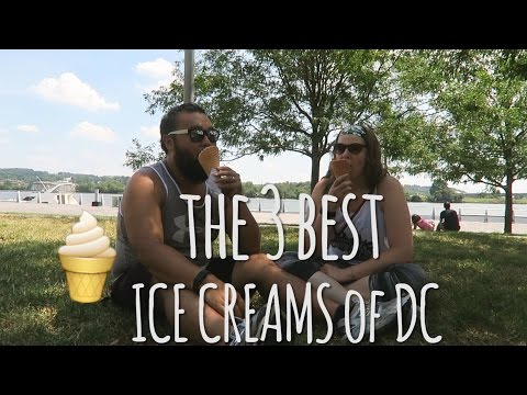 The THREE BEST ICE CREAM places in WASHINGTON, DC || Don Kim || VLOG6