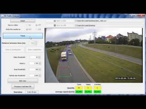 Automatic vehicles counting, classifying and measuring speed (Java)