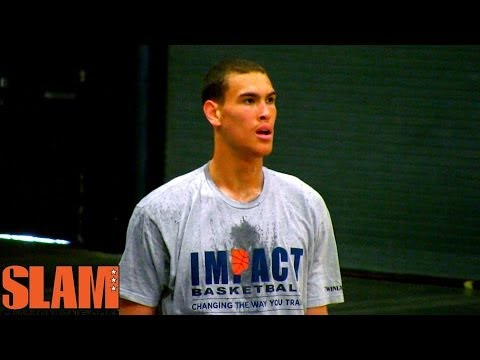 Dwight Powell 2014 NBA Draft Workout - Impact Basketball - 2014 NBA Draft