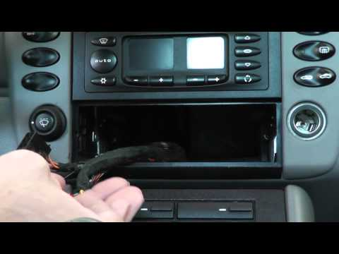 How To Install An Inexpensive Aux Input - Porsche 911 / Boxster Stereo