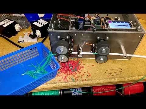 Wire cutter stripper machine DIY