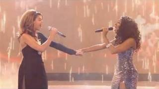 X-Factor 2008 Final Alexandra Burke And Beyonce - Listen