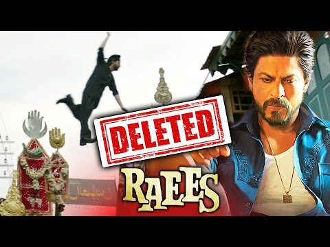 CONTROVERSIAL SCENE From Shahrukh's RAEES TRAILER Removed