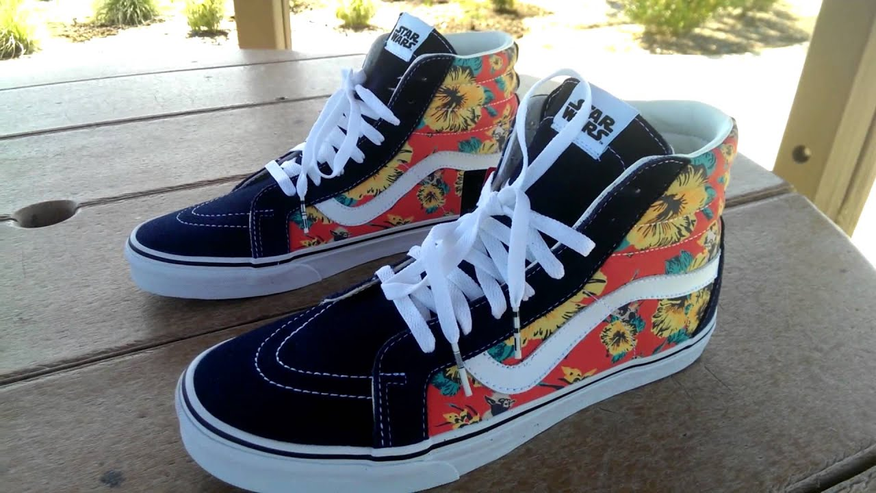 1b1443ea60 Shoe Review  Vans x Star Wars  Yoda Aloha  Sk8-Hi - YouTube