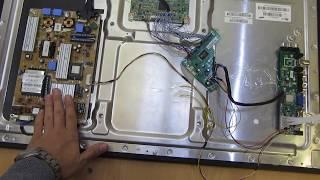 Оживляем телевизор Samsung UE32D6530WS часть 2