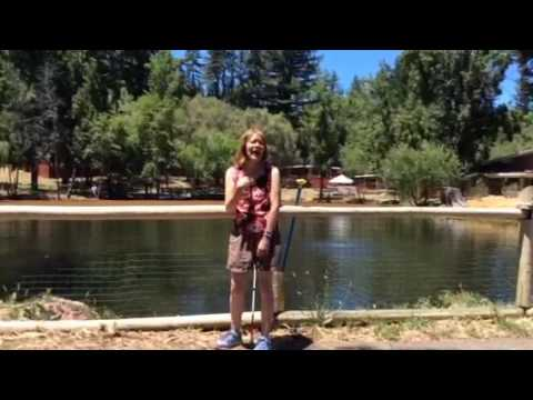 """Enchanted Hills Camp 2017 Beth Ann Singing """"Put A Little Love In Your Heart"""""""