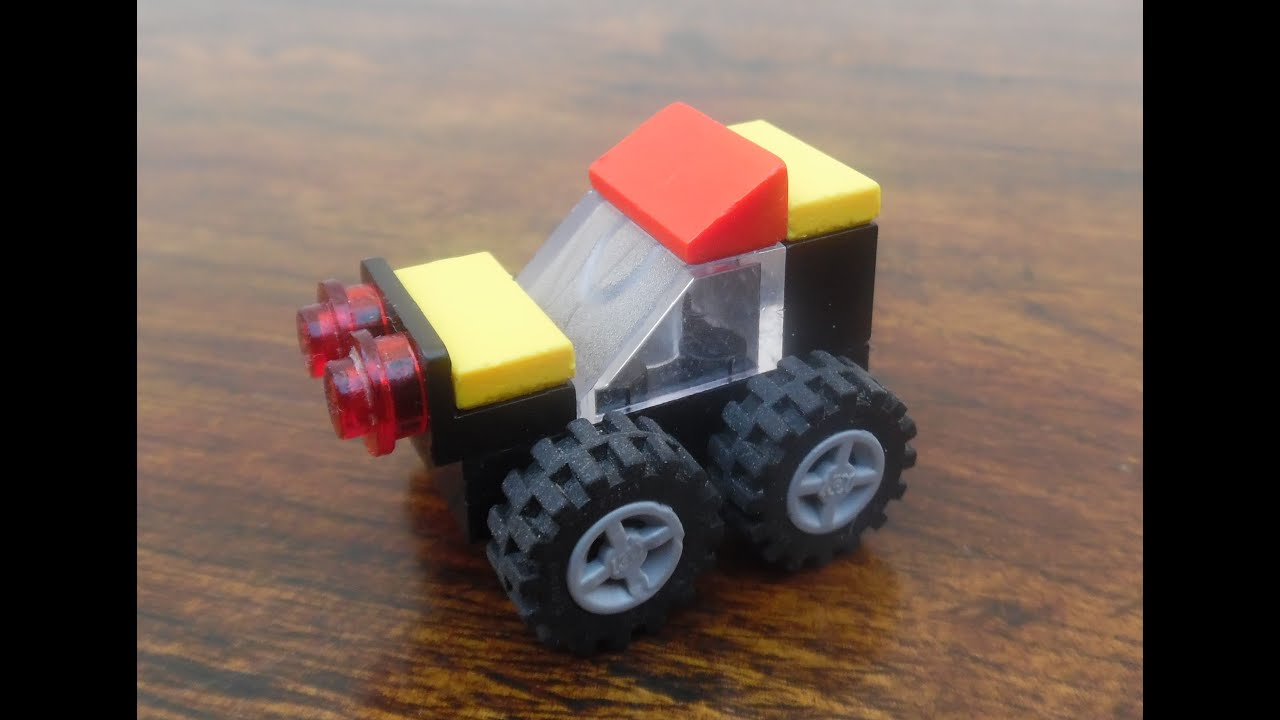 how to make a small car with lego lego city how to make a. Black Bedroom Furniture Sets. Home Design Ideas