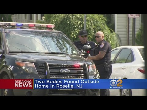 Two Bodies Found Outside Home In Roselle, New Jersey
