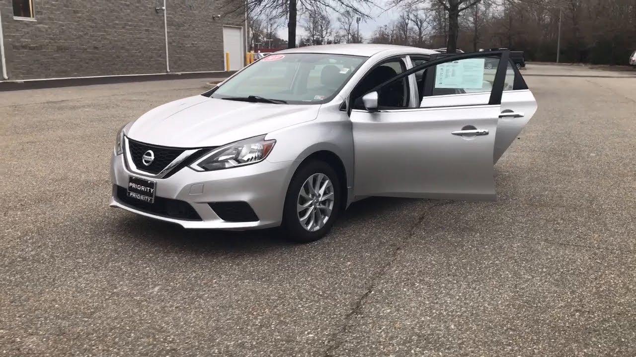 2019 Nissan Sentra Hampton Norfolk Newport News Yorktown Smithfield Va Tp15600 Youtube