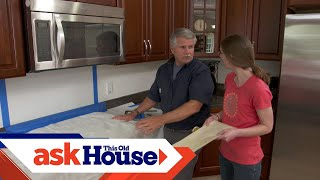 How to Install a Simple Tile Backsplash
