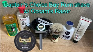 Captain's Choice Bay Rum shave…