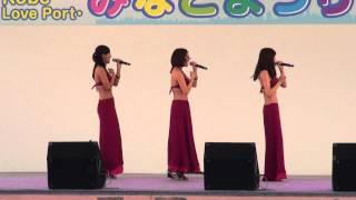 説明:ミスマリ「神戸みなと祭り2014ステージ会場」