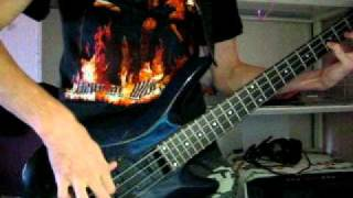 Anthrax - Metal Thrashing Mad (bass cover)