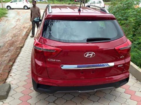 Hyundai Creta 2016 2017 Red Passion Color First Look india More On Description