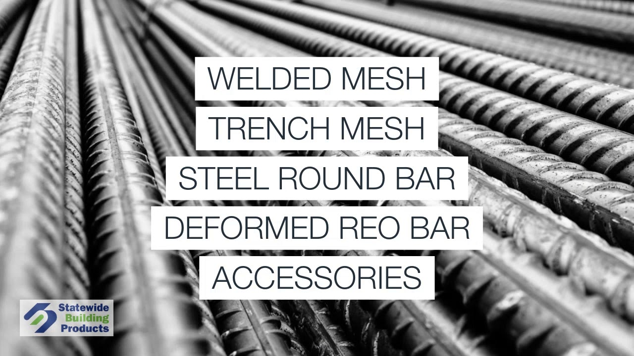 Reinforcing Mesh, Steel Bar & Rebar | Perth WA | BUY ONLINE