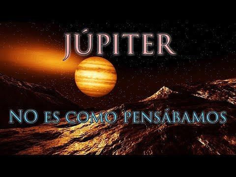 Júpiter NO es Como se Pensaba