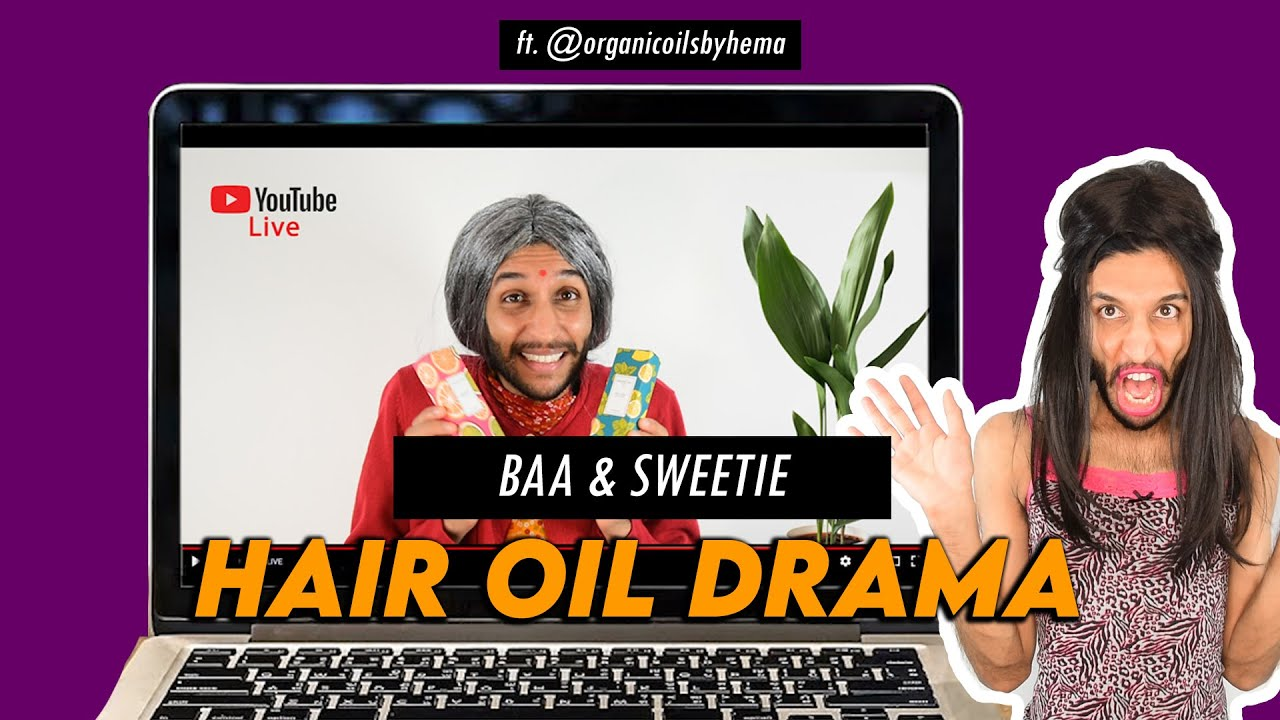 Download Baa & Sweetie - Hair Oil Drama