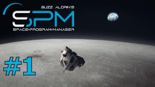lets play Buzz Aldrin's Space Program Manager  part 1