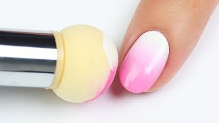 TESTING THE NEW NAIL ART SPONGE TOOL!!!