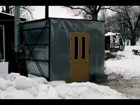 outdoor forced air heating project yr 2 pt 1 wmv youtube