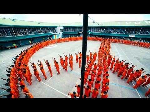 Знаменитая Филиппинская тюрьма с танцами CPDRC Philippines